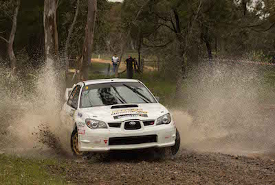 Reeves and Gelsomino, Rally South Australia