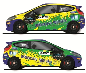 Brendan Reeves, WRC Academy, livery